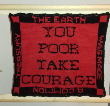 you poor take courage
